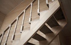 Balustres des balustrades d'escalier images stock