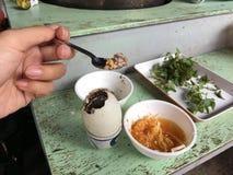 Balut (nawożący kaczki jajko) zdjęcie royalty free