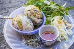 Balut, nourriture spécifique du Vietnam Image libre de droits