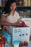 Balut - philippinische Spezialität Lizenzfreies Stockbild