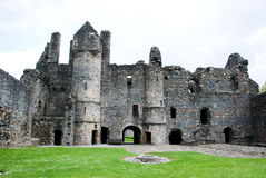 Balvenie城堡内部 免版税库存图片