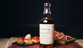 Balvenie苏格兰瓶 库存图片