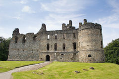 Balvenie Castle ruins Stock Photography