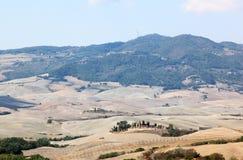 Balze landscape near Volterra, Tuscany, Italy Stock Image