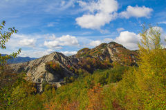Balze von Monte Fumaiolo in Emilia-Romagna Lizenzfreies Stockbild