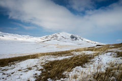 Balzi nelle montagne dei Urals del sud Immagine Stock Libera da Diritti