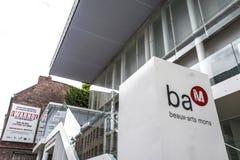 BAM (花花公子艺术博物馆)在阜,比利时 免版税图库摄影