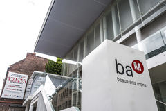 BAM (beaux-Kunsten Museum) in Mons, België Royalty-vrije Stock Fotografie