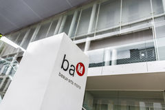 BAM (sztuki muzeum) w Mons, Belgia Zdjęcie Stock