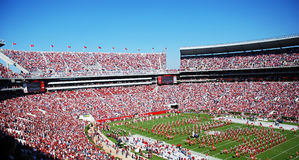 Bama Football Game Royalty Free Stock Photos