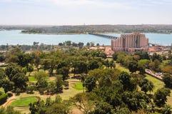 Bamako in Mali royalty-vrije stock foto's