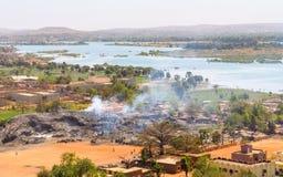 Bamako in Mali royalty-vrije stock foto