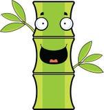 Bambù del fumetto felice Fotografia Stock Libera da Diritti