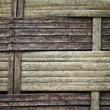 Bambù del tessuto Immagine Stock