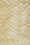 Bambù del tessuto Fotografia Stock