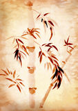 Bambù dissipato royalty illustrazione gratis
