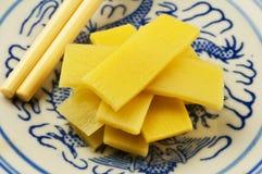 Bambù-germogli Fotografia Stock Libera da Diritti