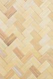 Bambù tessuto Fotografia Stock Libera da Diritti