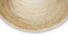 Bambù tessuto su fondo bianco Fotografia Stock
