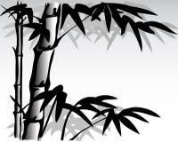 Bambú 9 stock de ilustración