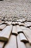 Bambú de la azotea imagen de archivo libre de regalías