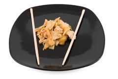 Bambú de la carne de vaca Foto de archivo libre de regalías
