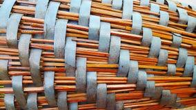 Bambú de la cestería imagen de archivo libre de regalías