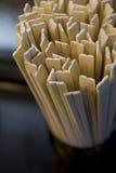 Bambú de los palillos la dieta. Fotos de archivo libres de regalías