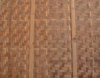 Bambú de mimbre Fondo, textura Imagen de archivo