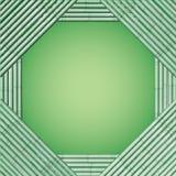 Bambú decorativo del marco del vector del diseño Imágenes de archivo libres de regalías