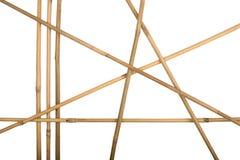 bambú del marco Foto de archivo libre de regalías