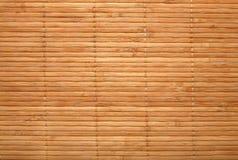 Bambú-estera Fotos de archivo libres de regalías