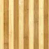 Bambú rayado de la textura de madera. Fotos de archivo