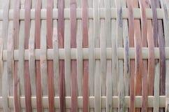 Bambú tejido Fotografía de archivo