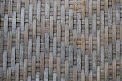 Bambú tejido viejo foto de archivo