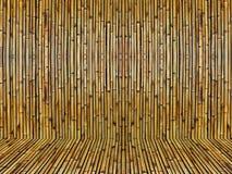 Bambú viejo Foto de archivo libre de regalías