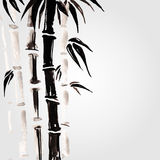 Bambú en estilo chino Fotos de archivo libres de regalías