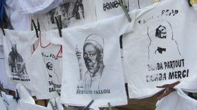 Bamba et sa famille images libres de droits