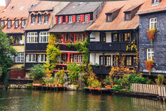 Bamberg – Little Venice in Bavaria, Germany Royalty Free Stock Photo