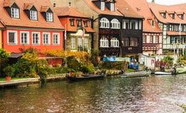Bamberg â Weinig Venetië in Beieren, Duitsland Stock Afbeeldingen