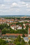 Bamberg. City in Bavaria, Germany, located in Upper Franconia. View from Michaelsberg stock photo