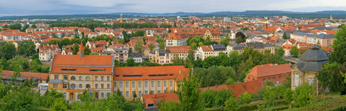 Bamberg. Panoramic View of Bamberg. Bavaria, Germany Royalty Free Stock Photography