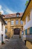 Bamberg, Allemagne Villa Concordia, 1722 de façade Photographie stock libre de droits