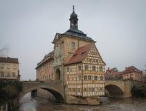 Bamberg Altes Horizontale Rathaus stock foto