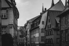 Bamberg błonia ulica zdjęcia stock