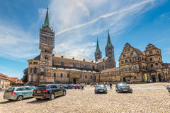 Bamberg Cathedral Royalty Free Stock Photography