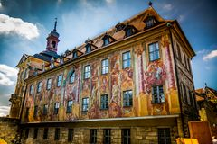 Bamberg. City of Bamberg in Bavaria, Germany Stock Photo