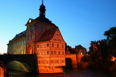 Bamberg city hall Royalty Free Stock Image