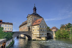 Bamberg City Hall, Germany Stock Images