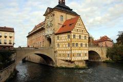 Bamberg Cityhall zdjęcie royalty free